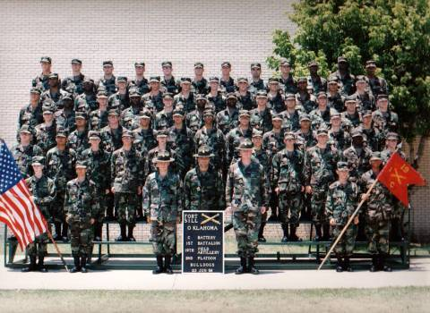 2nd Platoon C. Battery 1/19 FA